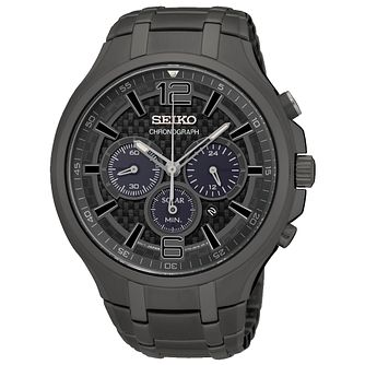 Seiko Conceptual Men's Ion Plated Strap Watch - Product number 4912306