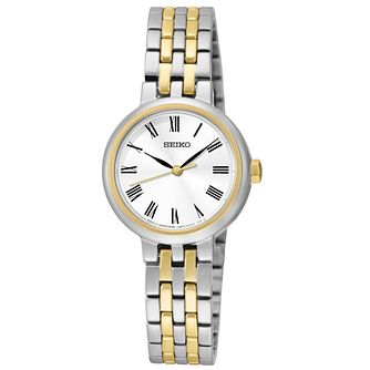 Seiko Conceptual Ladies' Two Colour Bracelet Watch - Product number 4912322