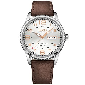 Hugo Boss Men's Stainless Steel Strap Watch - Product number 4913841