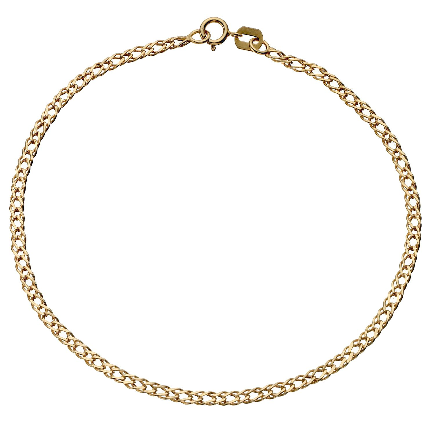 women real solid curb anklet chain at products nuragold yellow cuban fine gold bracelet watches and find bracelets online jewelry s brand