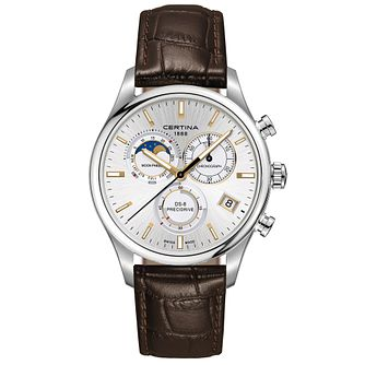 Certina DS-8 Moonphase Men's Stainless Steel Strap Watch - Product number 4916506