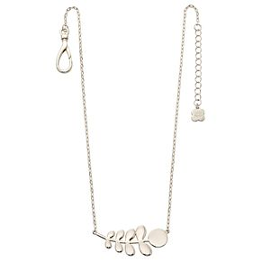 Orla Kiely Silver-Plated Leaf Necklace 42cm - Product number 4917960