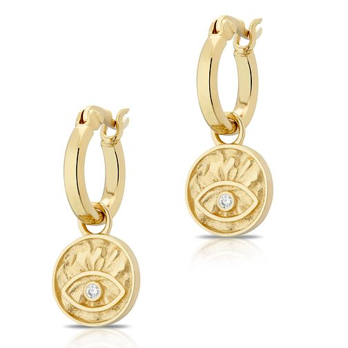 Orla Kiely Silver-Plated Leaf & Stone Pendant 70cm - Product number 4918002
