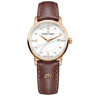 Maurice Lacroix Ladies' Rose Gold Plated Strap Watch - Product number 4936280