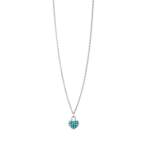 Chamilia Sterling Silver May Pave Birthstone Necklace - Product number 4943562