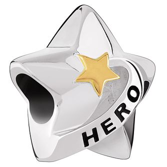 Chamilia Sterling Silver Swarovski Set Hero Star Charm - Product number 4944674
