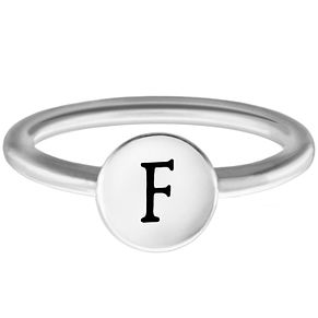 Chamilia F Alphabet Ring Small - Product number 4947150