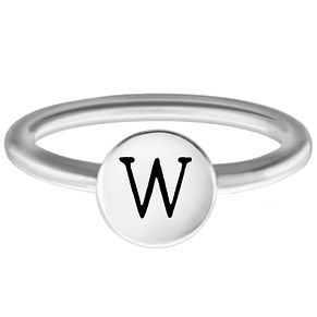 Chamilia W Alphabet Ring Small - Product number 4949536