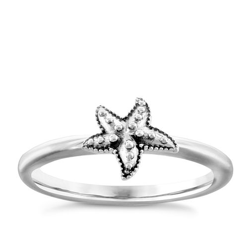 Chamilia Sterling Silver Starfish Ring Extra Small - Product number 4949781