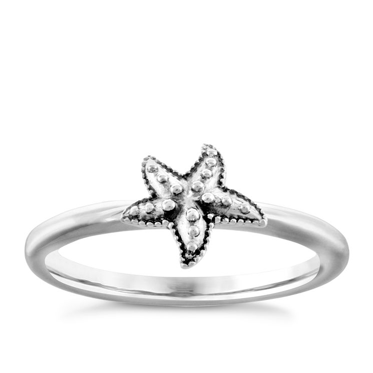 Chamilia Sterling Silver Starfish Ring Large - Product number 4949838