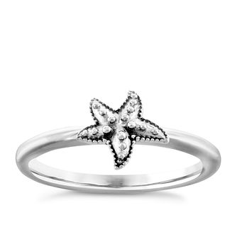 Chamilia Sterling Silver Starfish Ring Extra Large - Product number 4949846