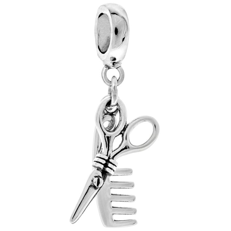 Chamilia Sterling Silver Shear Precision Charm Bead - Product number 4950550