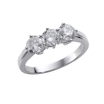 18ct White Gold 1.50ct Diamond Ring - Product number 4951115