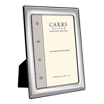 "Carrs Sterling Silver 6""x4"" Photo Frame - Product number 4955234"