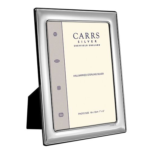"Carrs Sterling Silver 8""x6"" Photo Frame - Product number 4955250"
