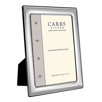 "Carrs Sterling Silver 10""x8"" Photo Frame - Product number 4955269"