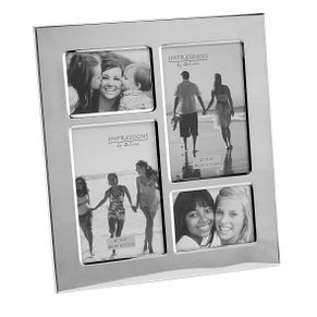 Silver Plated 4 Aperture Collage Photo Frame - Product number 4955595