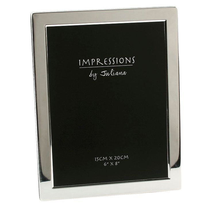 "Silver Plated Photo Frame 6"" x 8"" - Product number 4955633"