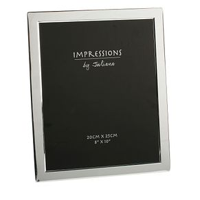 "Silver Plated Photo Frame 8"" x 10"" - Product number 4955641"