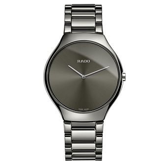 Rado True Men's Ceramic Bracelet Watch - Product number 4957016
