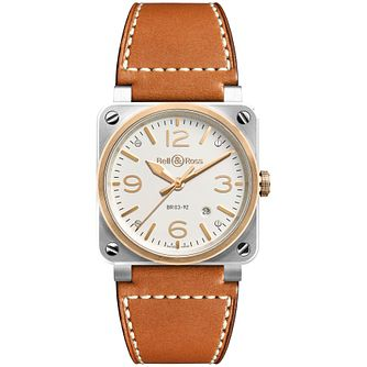 Bell & Ross Men's Two Colour Strap Watch - Product number 4960386