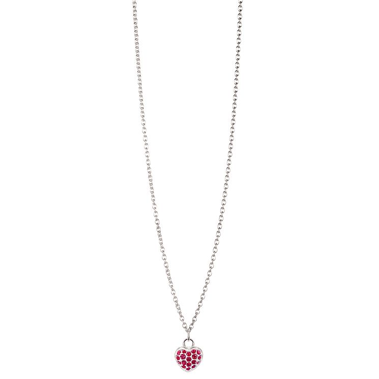 Chamilia Sterling Silver Petite Pave January Heart Necklace - Product number 4960440