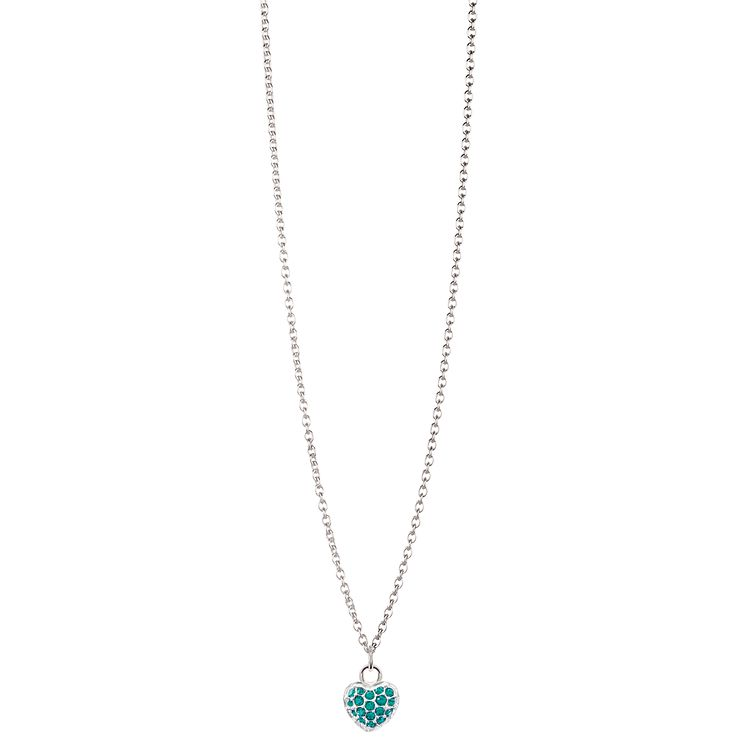 Chamilia Sterling Silver Petite Pave May Heart Necklace - Product number 4960483