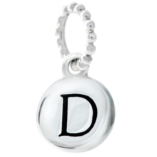 Chamilia Sterling Silver Alphabet Disc Charm D - Product number 4960602