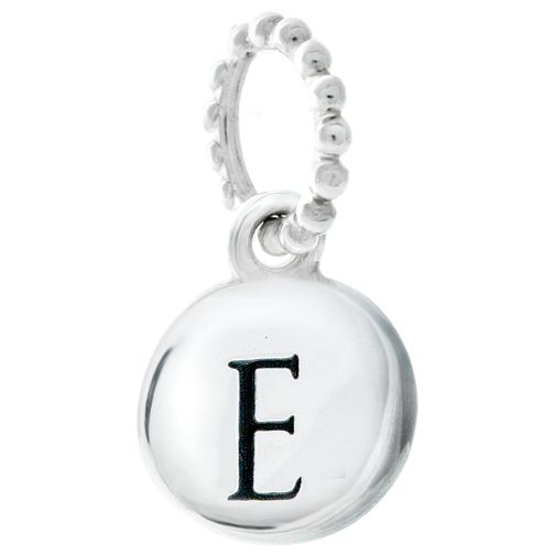 Chamilia Sterling Silver Alphabet Disc Charm E - Product number 4960610