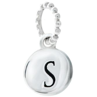 Chamilia Sterling Silver Alphabet Disc Charm S - Product number 4960777