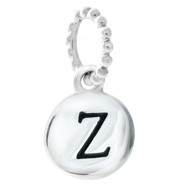 Chamilia Sterling Silver Alphabet Disc Charm Z - Product number 4960858