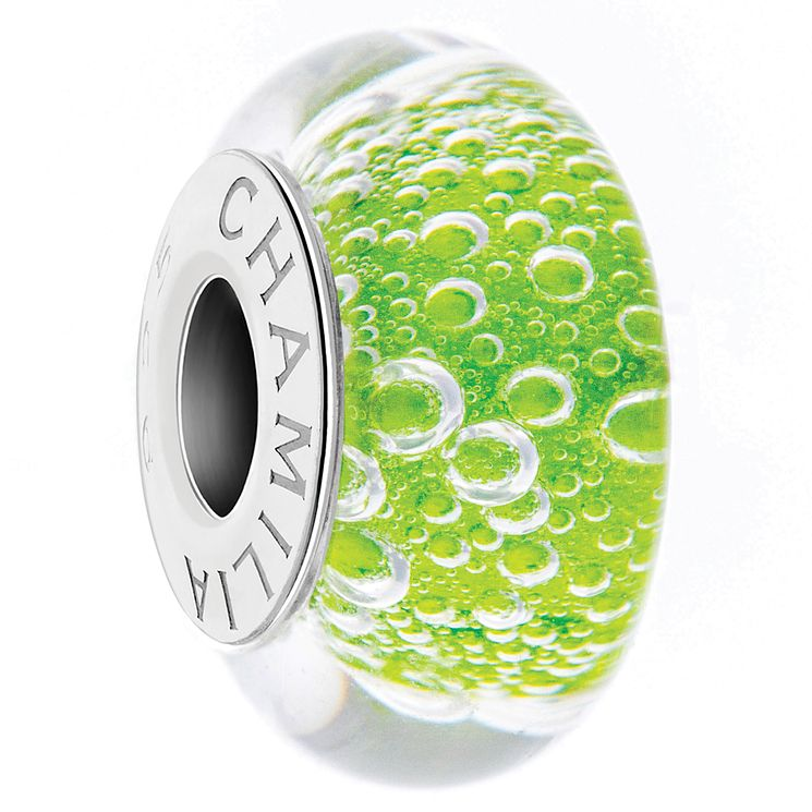Chamilia Green Murano Glass Neverland Bead - Product number 4961331