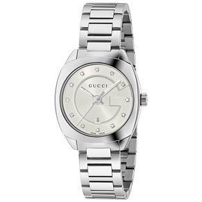 Gucci Ladies' Stainless Steel Stone Set Bracelet Watch - Product number 4963458