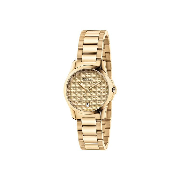 Gucci Ladies' Gold PVD Bracelet Watch - Product number 4964004