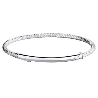 Chamilia Sterling Silver Connections Bar Bangle - Product number 4969456