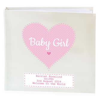 Personalised Stitch & Dot Girls Album with Sleeves - Product number 4970209