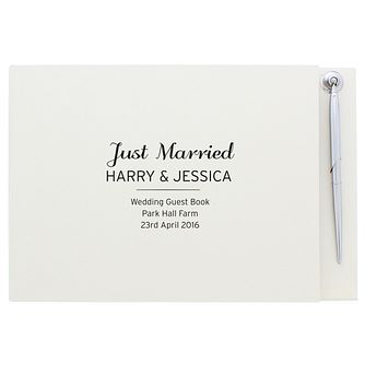 Personalised Classic Guest Book - Product number 4970543