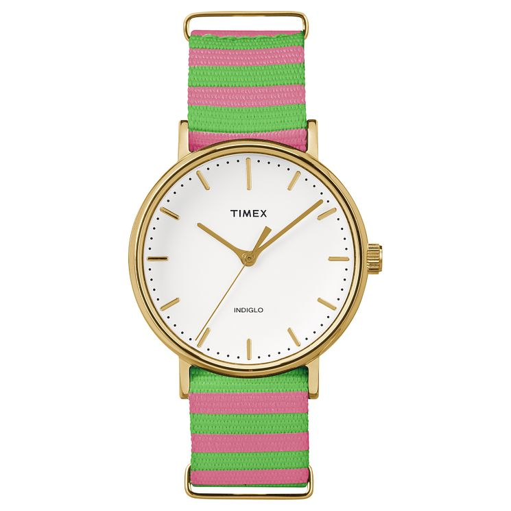 Timex Weekender Fairfield Multi Colour Strap Watch - Product number 4978846
