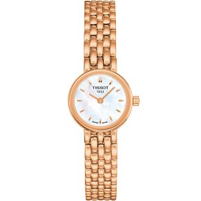 Tissot Ladies' Rose Gold Plated Bracelet Watch - Product number 4980239