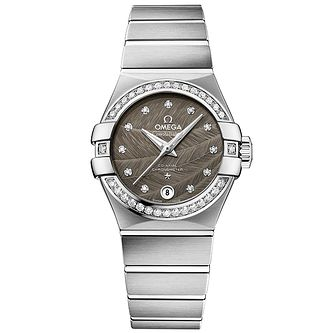 Omega Constellation Ladies' Stainless Steel Bracelet Watch - Product number 4981154