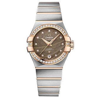 Omega Constellation Ladies' Two Colour Bracelet Watch - Product number 4981197