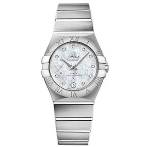 Omega Constellation Ladies' Stainless Steel Bracelet Watch - Product number 4981200