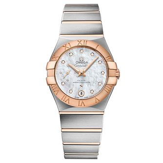 Omega Constellation Ladies' Two Colour Bracelet Watch - Product number 4981227