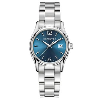 Hamiliton Jazzmaster Ladies' Stainless Steel Bracelet Watch - Product number 4995015
