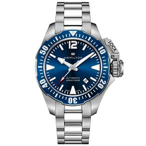Hamilton Frogman Men's Stainless Steel Bracelet Watch - Product number 4995112