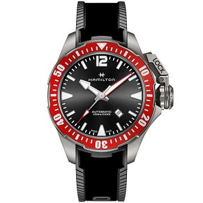 Hamilton Frogman Men's Titanium Strap Watch - Product number 4995139