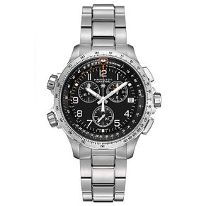 Hamiton X-Wind Men's Stainless Steel Bracelet Watch - Product number 4995147