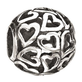 Chamilia Sterling Silver Captured Hearts Bead - Product number 4995155