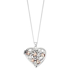 Clogau Silver 9ct Rose Gold Fairy Locket - Product number 4995376