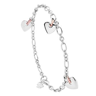 Clogau Silver 9ct Rose Gold Bracelet - Product number 4997956